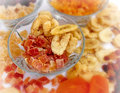 Dried fruit is good and healthy treats Royalty Free Stock Photo