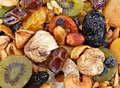 Dried fruit mix Stock Image