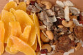 Dried Fruit and nuts Stock Image