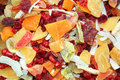 Dried fruit slices Royalty Free Stock Photos