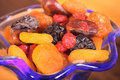 Dried fruits Royalty Free Stock Photo