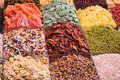 Dried fruits assortment Royalty Free Stock Photo