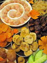 Dried fruits different can use as background Royalty Free Stock Photo