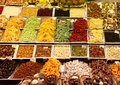 Dried fruits in the market Royalty Free Stock Photo