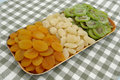 Dried fruits mix Stock Image