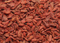 Dried goji background of chinese berries Stock Photo