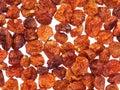 Dried golden berries (Physalis peruviana) Royalty Free Stock Photo