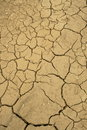 Dried lakebed Royalty Free Stock Photography