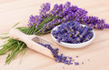 Dried lavender flowers Royalty Free Stock Photo