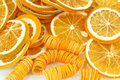 Dried lemon slices Royalty Free Stock Photo