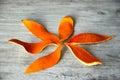 Dried orange peel Royalty Free Stock Photo