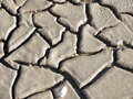 Dried out soil with cracks to be used as background Royalty Free Stock Image