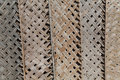 Dried palm texture in pattern closeup Royalty Free Stock Image