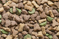 Dried pet food Royalty Free Stock Photo