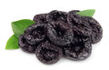 Dried plums Royalty Free Stock Images