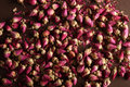 Dried rose buds Stock Image