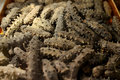 Dried sea cucumber Royalty Free Stock Images
