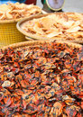 Dried seafood Royalty Free Stock Images