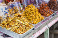 Dried seafood for sale thailand Royalty Free Stock Photos