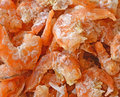 Dried shrimp background closeup on Stock Photos