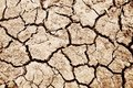 Dried soil detail Royalty Free Stock Photo
