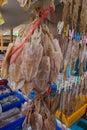 Dried squid pattaya beach thailand Royalty Free Stock Photography