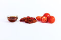 Dried tomatoes cooked for dried tomatoes sun dried tomatoes wit with spices italian cuisine Stock Images