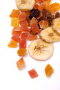 Dried tropical fruit Stock Image