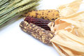Dried wheat and corn Royalty Free Stock Photo