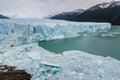 Drift ice at perito moreno glacier patagonia argentina Royalty Free Stock Images