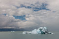 Drift ice on viedma lake in patagonia argentina Royalty Free Stock Photos