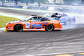 Drift Racing Stock Photography