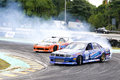 Drift Racing Royalty Free Stock Photos