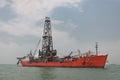 Drill Ship Royalty Free Stock Photo