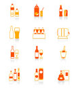 Drink bottles icons | JUICY Stock Photography