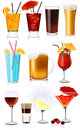 Drink collection Stock Image