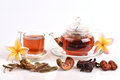 Drink herbal colon cleansing and fat accumulation thailand various kinds of herbs bring to boil together for drinks Stock Photography