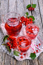 Drink red Royalty Free Stock Photo