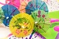 Drink Umbrellas Royalty Free Stock Photo