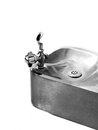 Drinking Fountain Water Stainless Steel Royalty Free Stock Photo
