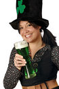 Drinking on St Patricks Day Stock Photos