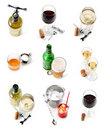 Drinks collection Royalty Free Stock Image
