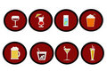Drinks icon Royalty Free Stock Photo