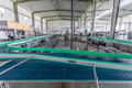 Drinks production plant in china Stock Image