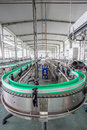 Drinks production plant in china Royalty Free Stock Photo