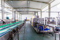 Drinks production plant in china Stock Images
