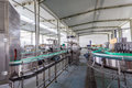 Drinks production plant in china Royalty Free Stock Image