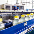 Drinks production plant in china Stock Photos