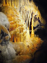 Drip stone cave cavern karst shapes formations phenomenal and tropical Stock Photo