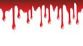 Dripping blood scary illustration of on halloween Royalty Free Stock Photos